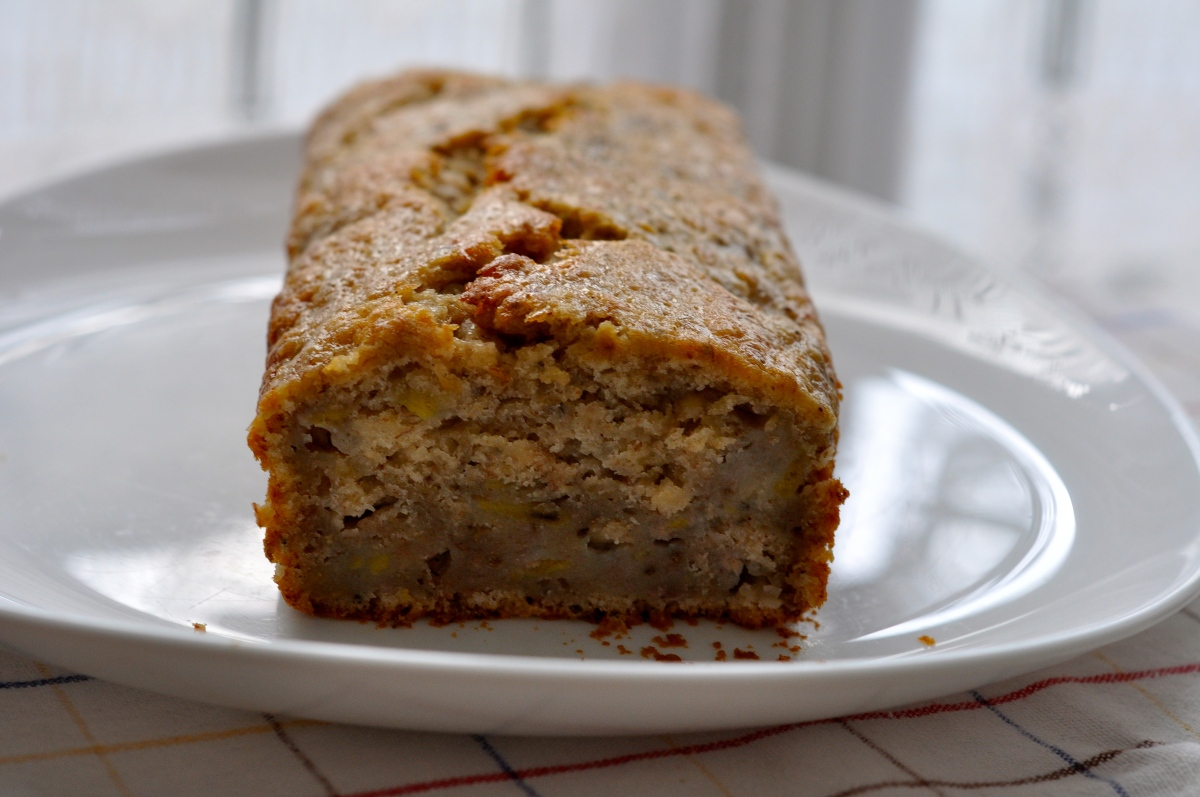 Vegan banana bread & week 5 marathon training